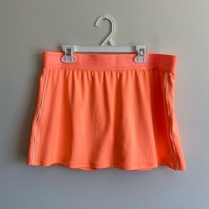 Orange Nike Tennis Skirt, Size: L